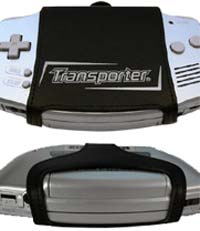 GameBoy Advance Transporter Case - Silver