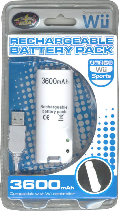 wii rechargeable battery pack instructions